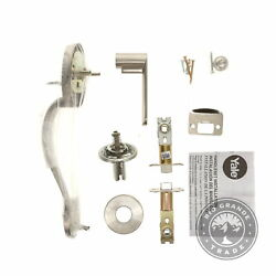 Open Box Yale Security D7809n5kn01 Jamestown Kincaid Interior Lever In Silver
