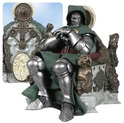 Sideshow Collectibles Dr Doom On Throne Premium Format Statue / Marvel