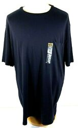 The Foundry Supply Co. Adult Men#x27;s Pocket T Shirt 4XL Navy Cotton NWT
