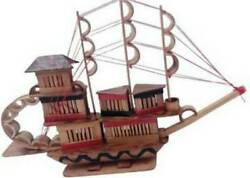 Bamboo Boat For Home Decorationdecorative Bamboo Ship Showpiece For Officebusi