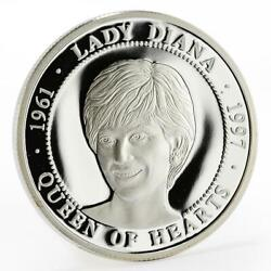 Malta 500 Liras Champions For Peace Series Lady Diana Proof Silver Coin 2003