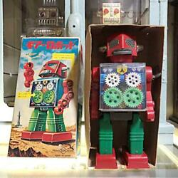 Made By Horikawa Toy 1970s Gears Robot Vintage With Box