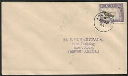 Aden 1954 1sh Dhow Building On Fdc