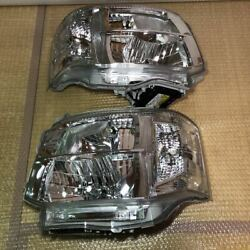 Almostcar Removed Toyota Genuine Hiace3 Headlight Assy Left And Right Sets