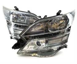 Toyota Verfire 20 Anh20 Anh25 Final Headlight Left And Right Sets Stamped Sa