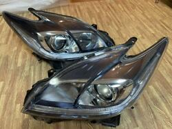 No Damage Rare Prius 30 Phv Hid Headlight Headlamp Unit Stamped Left And Right