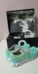 On Cloud Women Shoes Size 9.5 Color Mint Free Shipping