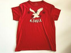American Eagle Short Sleeve Patch Logo T-shirt Menand039s 2xl