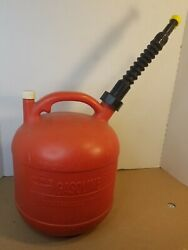 Eagle 2-1/2 2.5 Gallon Vented Gas Fuel Can And Spout Pg-3 Usa