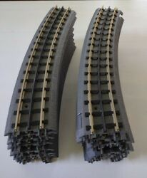 Lot 16 Mth Electric Trains O Scale Toy Model Train Tracks Curved