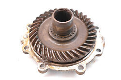 93 Honda Fourtrax 300 4x4 Rear Differential Ring Gear And Cover Trx300fw For Parts