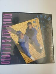 Kool G Rap And Dj Polo Andldquo Road To The Riches Butcher Shop Andldquo Vinyl Excellent Condi