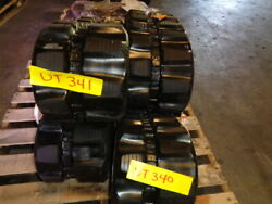 Set Of Summit Used 10 Rubber Tracks - Fits Yanmar | Free Shipping - 250x48.5x84