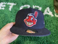 Cleveland Indians Crystal Grillz World Series New Era Fitted 7 1/4