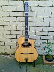 Gypsy Jazz Guitar Altamira M01d New Easy Action Fun To Play Cheapest In Oz
