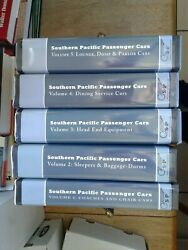 Southern Pacific Passenger Cars / Set Of 5 Volumes
