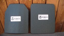 Ar500 Body Armor / Level Iii Front And Rear Plate Package Discontinued Package