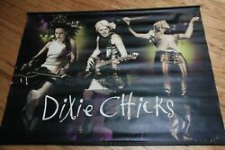 Dixie Chicks Promo Vinyl Poster / Banner 2 Sided 4 Ft. Wide 35 In. Up And Down