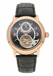 Frederique Constant Heart Beat Manufacture 18k Rose Gold 42mm Auto Menand039s Watch