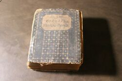 Antique 1916 Old Deutsch Russian Vocabulary Dictionary Pocket Book German Gothic