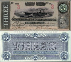 Confederate States 3 Gen. Robert E. Lee Fantasy Art Concept Note By Reed Bnc