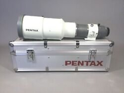 Pentax A 600mm F/5.6 Ed If Telephoto Lens With K-mount, Fitted Aluminum Case