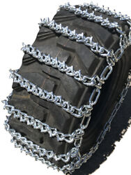 Boron Alloy Snow Chains 12 16.5 12-16.5 Two-link V-bar Tractor Tire Chains
