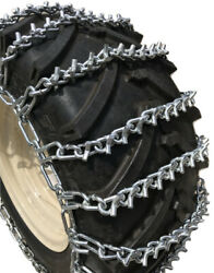 Snow Chains 33 X 12.5 X 15 , 33 12.5 15 V-bar Tire Chains W/spring Tensioners