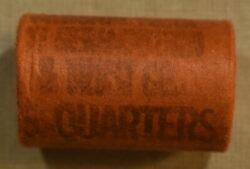 Unopened Bank Wrapped 5 Roll Of 1953 Washington Quarters