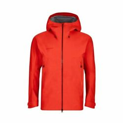 Mammut Crater Hs Hooded Jacket Gore-tex 101.4oz Spicy Ski Mountaineering New Sno