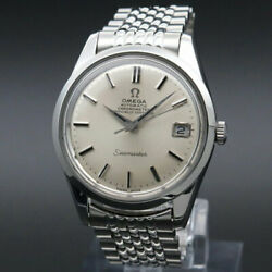 Omega Antique 1969 Cal.564 Seamaster Chronometer Date Rice Breath Vintage Oh
