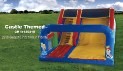 30x20x20 Commercial Inflatable Castle Water Slide Bounce House Obstacle Combo