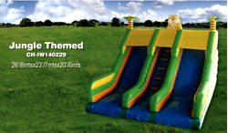35x20x20 Commercial Inflatable Water Slide Bounce House Obstacle Course Combo