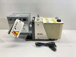 Agilent Varian Hs-602 Dual-stage Rotary Vane Vacuum Pump With Warranty