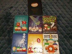 Lot Of 6 South Park Seasons Dvd Set 3 4 5 6 7 8 And Cult Of Cartman 1 Disc Miss 4