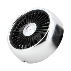 Mini Car Fan For Air Vent/dashboard 3 Speeds Usb Cooling Fan With Cable A0o2