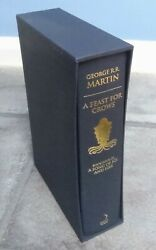 Signed A Feast For Crows George R R Martin A Game Of Thrones 1st Print First