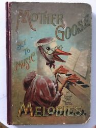 1880s Mother Gooseand039s Melodies Set To Music Illustrated Nursery Rhymes And Songs