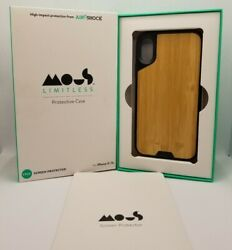 Mous Limitless 2.0 Protective Case Bamboo - Iphone X/ Xs - W/ Screen Protector