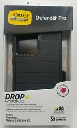 Otter Box - Defender Pro For Galaxy S21 Ultra 5g - With Belt Clip