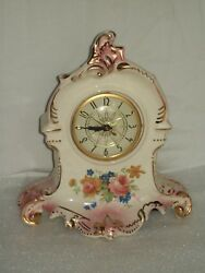Vintage Lanshire Table Top Or Mantle Clock Working Electric Movement