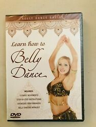 Learn How To Belly Dance 10 Basic Movements And More Brand New Dvd Nr 63 Minutes