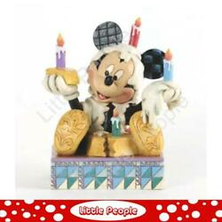 Jim Shore And039hereand039s To Youand039 Mickey Mouse Figurine Disney Traditions