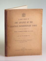 A Brief Record Of The Advance Of The Egyptian Expeditionary Force Cairo 1919