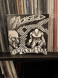 """The Abused Loud And Clear Nyhc Rare 7"""" Vinyl Record Agnostic Front Hardcore"""