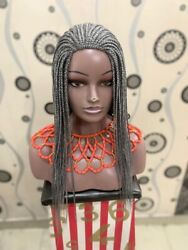 Braided Wig.box Braids. Wig. Ready To Ship.length Is 18inches Long