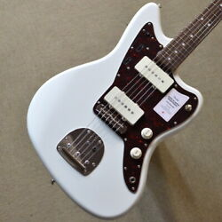 Fender Made In Japan Traditional 60s Jazzmaster Olympic White Guitar Asx411