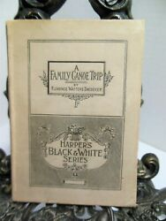 1892 A Family Canoe Trip Florence Watters Snedeker Canoeing Set In New York Hb