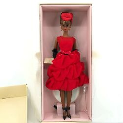 Barbie Doll Little Red Dress Fashion Model Collection Silkstone Gold Label 2014