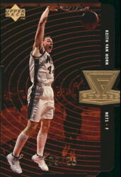 1998-99 Upper Deck Forces Gold Nets Basketball Card F27 Keith Van Horn/25
